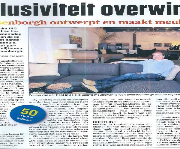 Swartsenborgh in AD